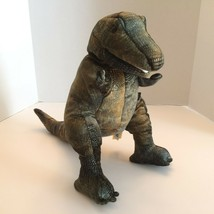 "Folkmanis Hand Puppet Dinosaur T Rex Tyrannosaurus 2113 Stands 14"" Tall - $31.99"