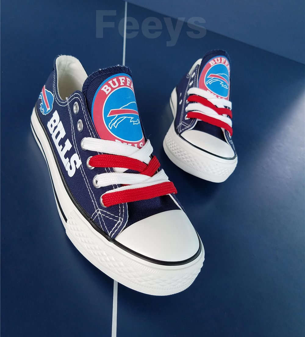 Buffalo Bills shoes Bills sneakers Fashion Christmas gift birthday gift for her