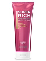 Bath & Body Works Sweet Pea 10oz Super Rich Moisturizing Body Wash - $12.07