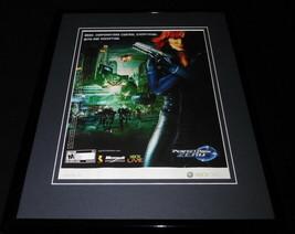 2006 Perfect Dark Zero Xbox 11x14 Framed ORIGINAL Vintage Advertisement - $34.64