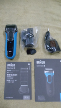 Braun S3 Shave & Style 3 in 1 Wet and Dry Rechargeable Electric Shaver 3... - $50.00