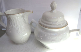 Rosenthal Classic Sanssouci Shape Ivory Creamer and Covered Sugar Bowl-Germany - $45.00