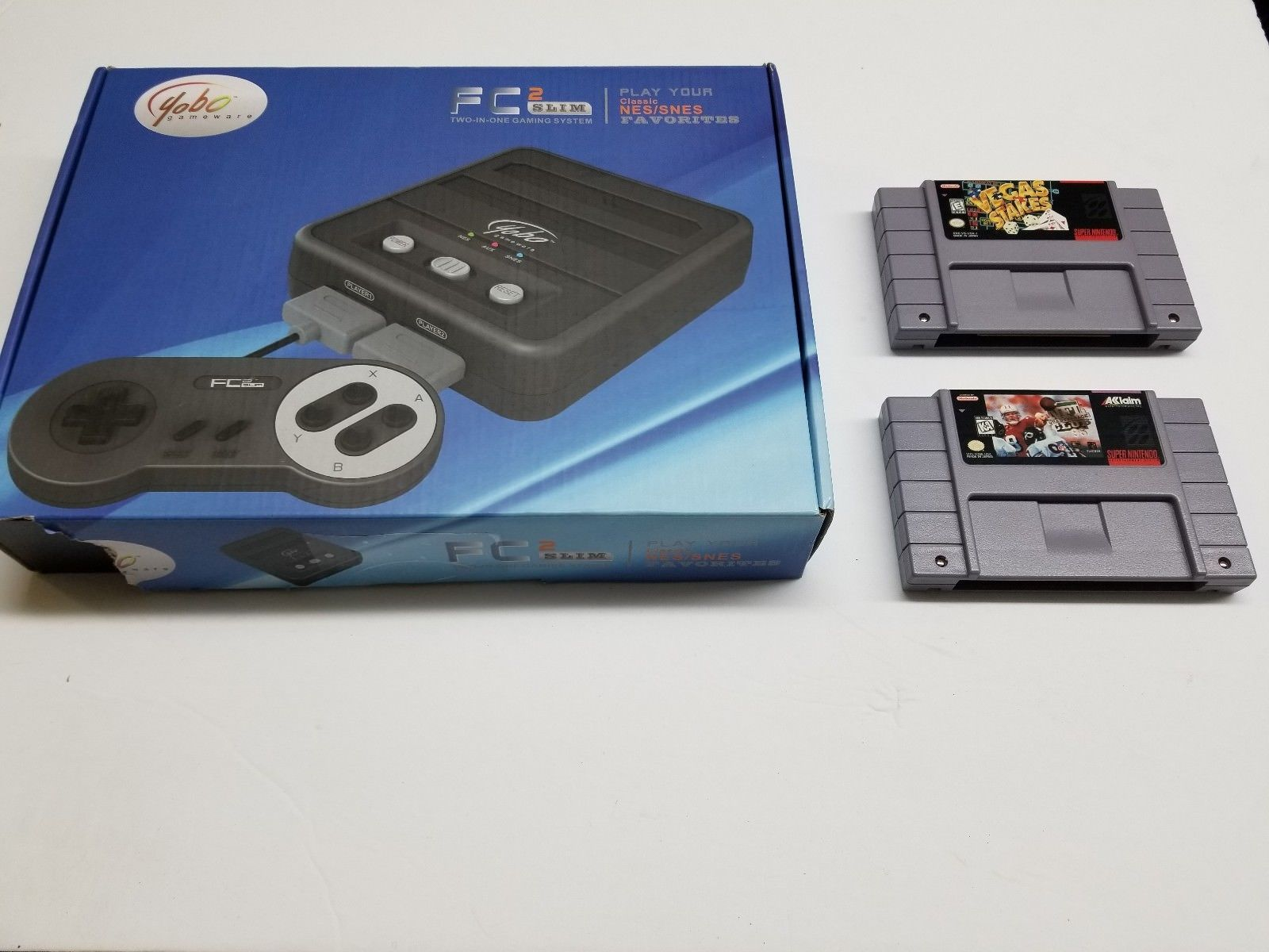 2 Games+ FC 2 Twin Slim Console for NES and similar items
