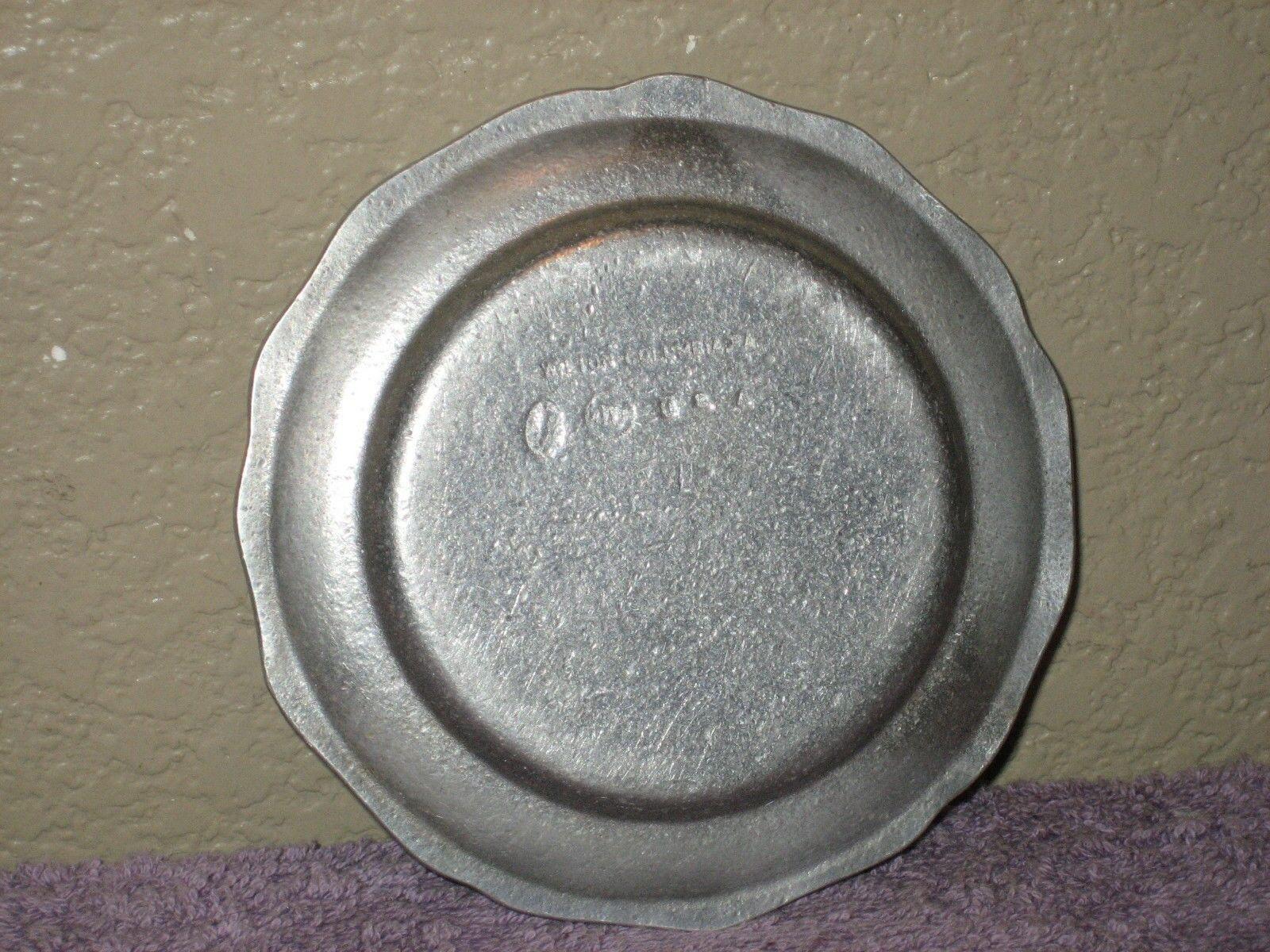 Wilton Armetale RWP Aluminum Metal Plate Stamped AF Arthritis Arizona Foundation