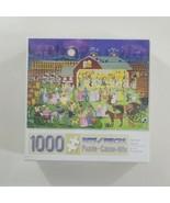 "Bits and Pieces 1000 Piece Puzzle Harvest Dance 20"" x 27"" SEALED - $31.78"