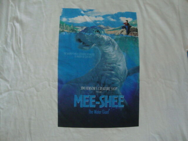 Primary image for RARE MEE SHEE Jim Henson DVD Movie Promo NEW T Shirt XL