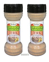 Grace Caribbean TRaditions Jamaican Jerk Seasoning (Pack of 2) 4.97 oz Size - $12.86