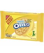 OREO LEMON CREME SANDWICH COOKIES 20 OZ PACK Family Pack - $20.20