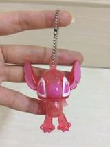 Disney Pink Lilo Stitch Keychain. Aloha Theme. cute, pretty and rare. - $12.00