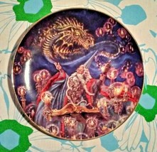 "The Franklin Mint ""Summoning of the Dragon"" Collector Plate RT0354  - $27.72"