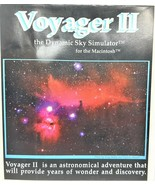 Voyager II the Dynamic Sky Simulator CDROM by Carina Software for MAC 2.... - $79.06