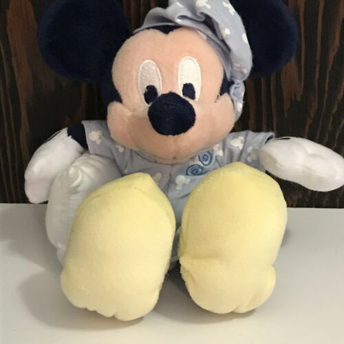 Disney Mickey Pajama Plush Stuffed Animal 9""