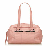 Pre-loved Chanel Pink Caviar Leather Shoulder Bag Italy - $658.74