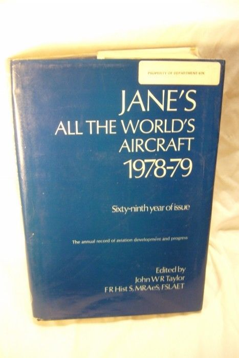 Jane's All the World's Aircraft 1978-79 69th Edition