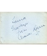 CLAUDE RAINS Autograph, nicely signed on album page - $197.01