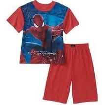 Marvel The Amazing Spider-Man Kids Boys Sleepwear Shorts Sizes 4//5 6//7 8 NWT