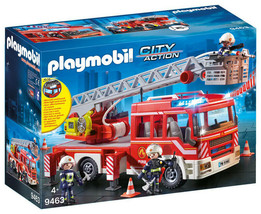 Playmobil Fire Engine with Ladder and Lights and Sounds - $89.67