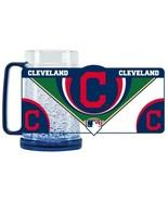 CLEVELAND INDIANS MLB 16 OZ ICE CRYSTAL FREEZER MUG BY DUCK HOUSE CLOSEOUT - $5.50