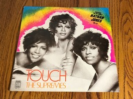 THE SUPREMES ORIGINAL FIRST PRESS TITLED TOUCH WITH HYPE STICKER FACTORY... - $345.51