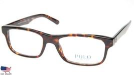 New Polo Ralph Lauren Ph 2140 5003 Dark Havana Eyeglasses Frame 54-18-145 B35mm - $84.14