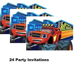 BLAZE and MONSTER MACHINES Party Favors Party Birthday Invitations Invit... - $18.76