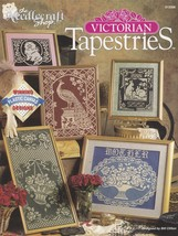 Victorian Tapestries, Plastic Canvas Pattern Booklet TNS 913308 Bunny Ca... - $4.95