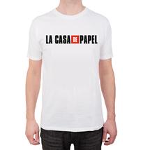 Men La casa de papel T shirt, money heist movie top fan tv show  gift shirt - $13.00
