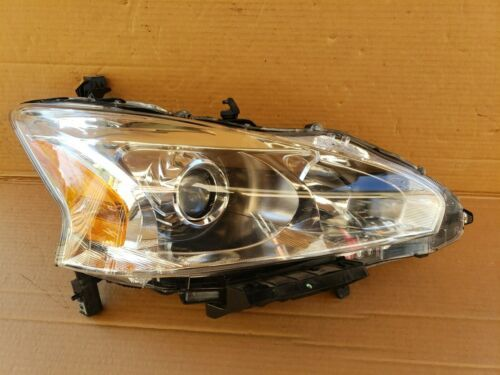 13-15 Nissan Altima Sedan HID Xenon Headlight Lamp Passenger Right RH POLISHED