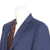 NEW $475 Calvin Klein Two Button 46 Regular Solid Blue Suit Jacket Sport... - $59.31