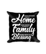 Family gifts - Square Pillow Case w/ stuffing - $23.00