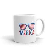 New Mug - Merica America Patriotic USA Americana Fourth of July - £8.52 GBP+