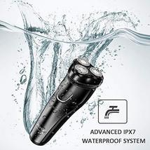 Electric Razor for Men,FLYCO Wet & Dry Mens Razors for Shaving Electric Cordless image 2