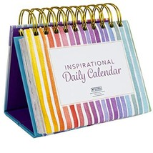 Motivational & Inspirational Perpetual Daily Flip Calendar with Self-Standing Ea image 1