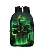 Roblox Theme Backpack Schoolbag Daypack Bookbag Greenlight - $21.99