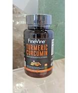Turmeric Curcumin with BioPerine Black Pepper and Ginger - 60 caps EXP:1... - $13.78