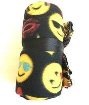 Emoji Pals Printed Fleece Throw - $14.84