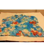 Jams World Tropical Flower Button Down Shirt Sz. XXL 2XL Women Hawaii - $39.59
