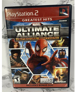 BONUS Disc & MANUAL ONLY Marvel Ultimate Alliance Special Edition PS2  - $5.93