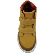 NEW Toddler Boys Wheat/Matt Casual Sneakers Shoes Tan Various Sizes image 2
