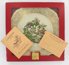 "Vintage Boehm Lenox ""The Wood Thrush"" Bird Limited Ed 1970 Plate With Box - $62.99"