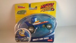 Disney Mickey and the Roadster Racers DONALD'S CABIN CRUISER DIE-CAST VE... - $6.99