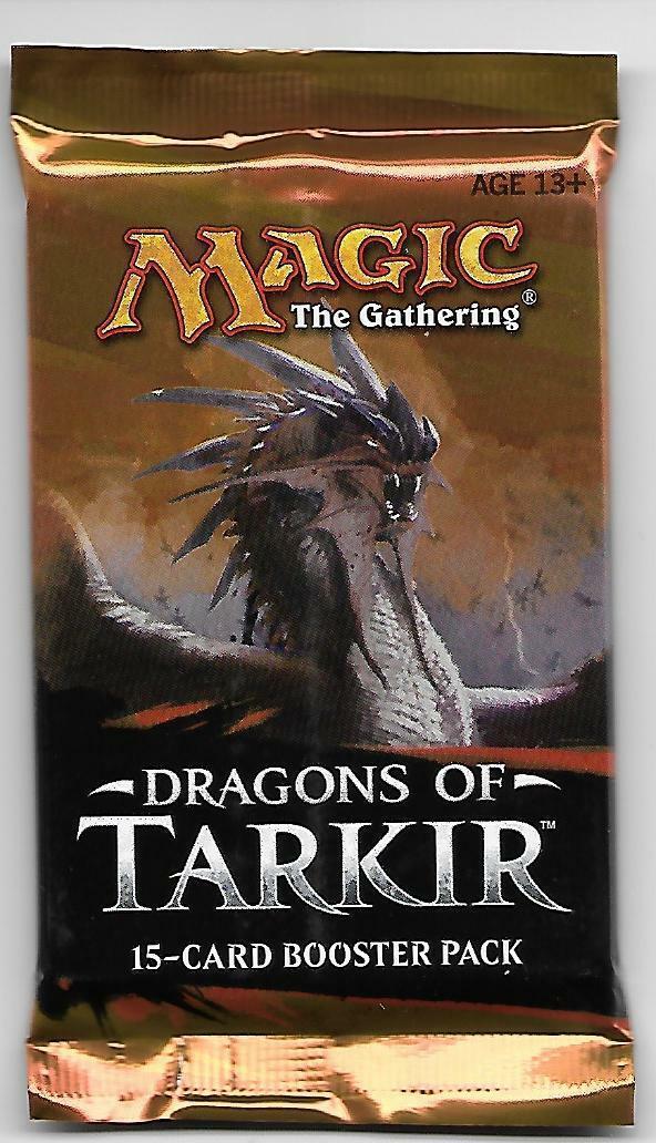 MTG Dragons of Tarkir Booster Pack English!! (x 1)