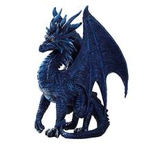 Pacific Giftware Blue Nightfall Dragon Statue by Ruth Thomson Dragons Lair - $52.46