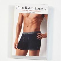 Ralph Lauren Blue Stretch Cotton Jersey Boxer Brief Underwear Mens New i... - $22.49