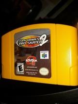 Tony Hawk's Pro Skater 2 (Nintendo 64, 2001)Cartridge Only! - $27.99