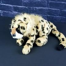 "Folkmanis Folktails Baby Cheetah Plush Hand Puppet Big Cat 12"" Stuffed Animal  - $35.63"
