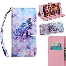 XYX Wallet Phone Case for LG K40/K12 Plus/LG X4 2019,[Wrist Strap] Paint... - $9.88