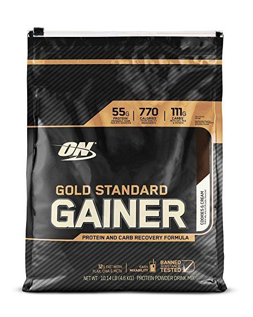 Primary image for Optimum Nutrition ON GOLD STANDARD GAINER(Vanilla Ice Cream)Protein/Carb Gainer