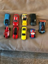 (9) Mattel hot wheels die cast cars 1/64 scale - $9.00