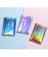 Metallic Hologram Women Travel Passport Cover Clutch Passport Holder Org... - $8.95
